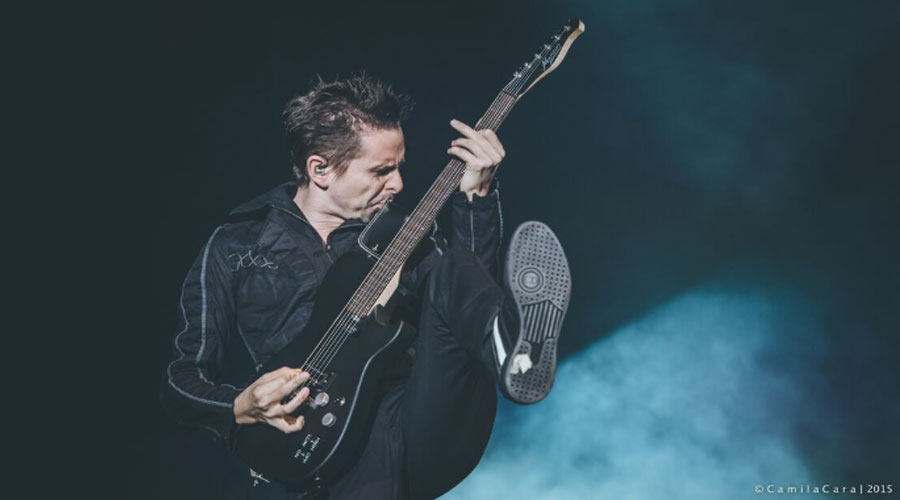 Matt Bellamy, do Muse, revela ter comprado icônica guitarra de Jeff Buckley