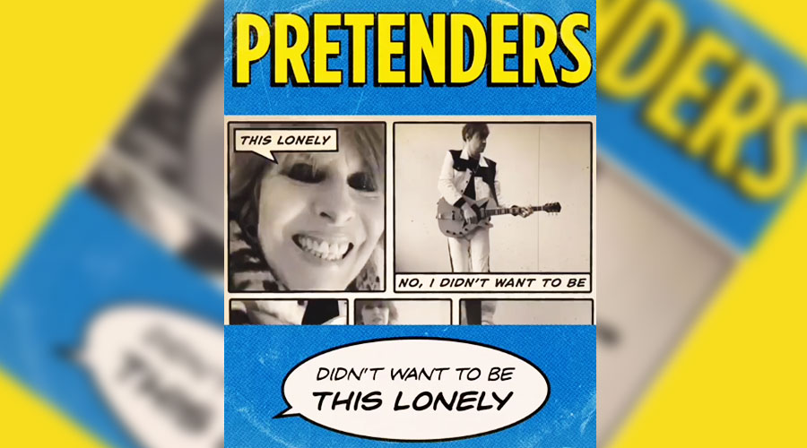 "The Pretenders lança mais um single; veja clipe de ""Didn't Want To Be This Lonely"""