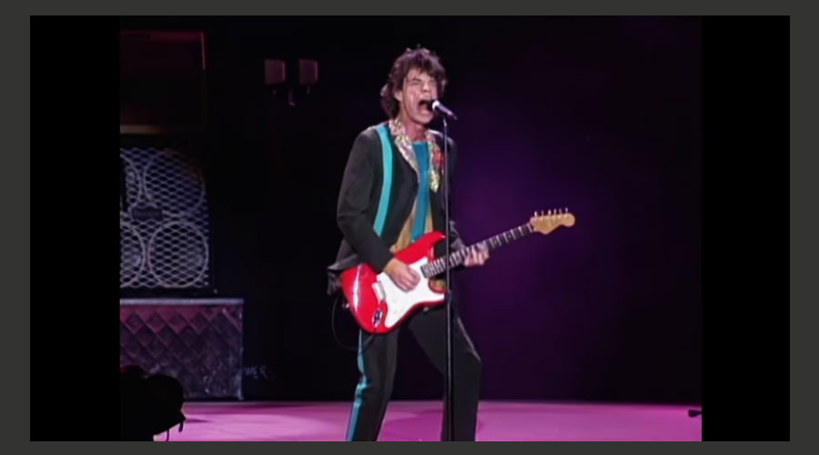 "Rolling Stones liberam no YouTube registro histórico de sua turnê ""Bridges To Babylon"""