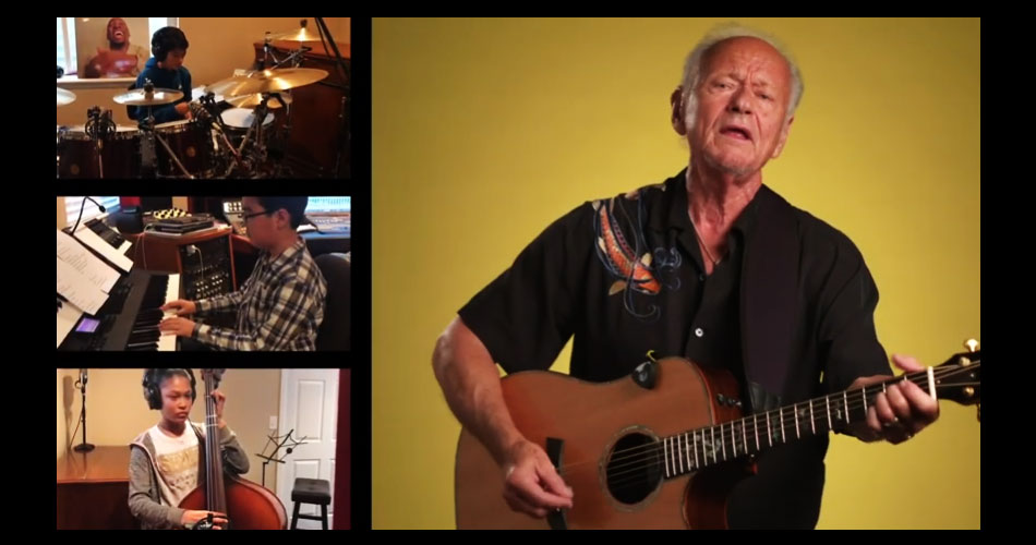 "Jesse Colin Young, do The Youngbloods, refaz o hino ""Let's Get Together"""