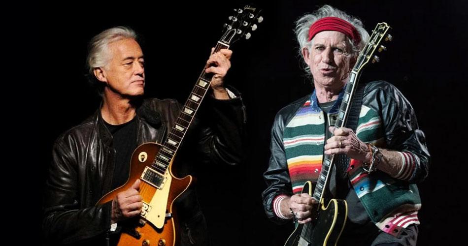 """Jimmy Page revela detalhes da gravação de """"Scarlet"""" com os Rolling Stones"""