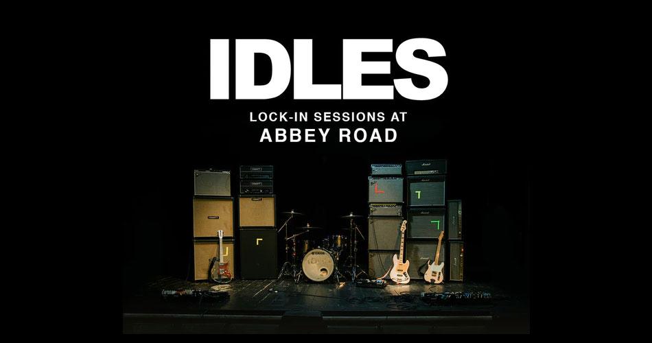 IDLES anuncia transmissão de sessões gravadas nos estúdios Abbey Road