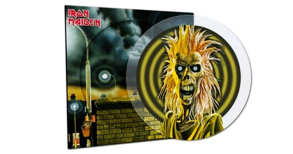 Disco de estreia do Iron Maiden ganha edição de 40 anos