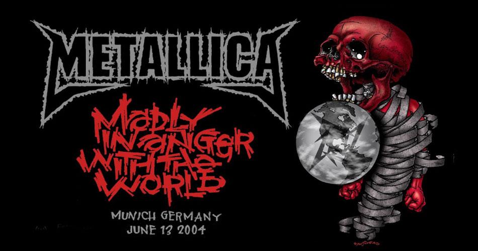 Metallica transmite nesta segunda show histórico de 2004