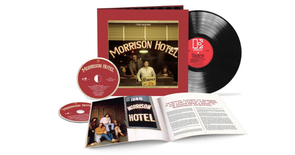"The Doors anuncia relançamento de 50 anos do álbum ""Morrison Hotel"""