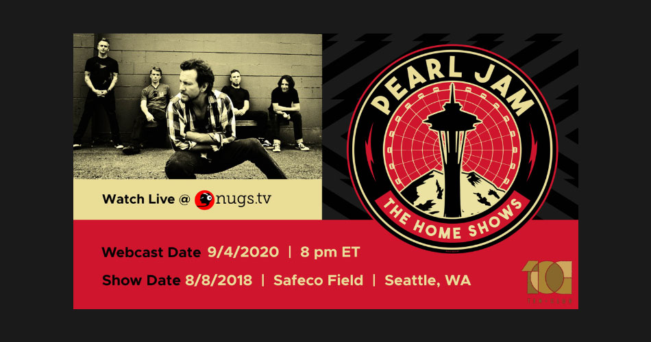 Pearl Jam anuncia evento on-line em sistema pay-per-view