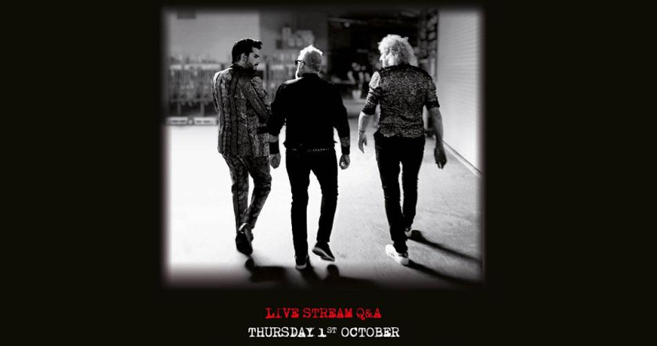 Queen anuncia evento on-line para celebrar chegada de álbum ao vivo