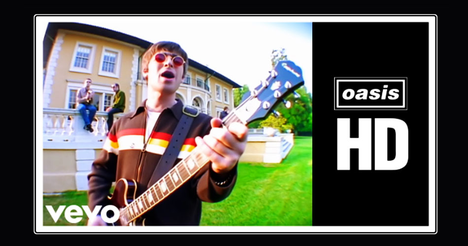 "Oasis: clipes do álbum ""(What's The Story) Morning Glory?"" ganham formato HD"