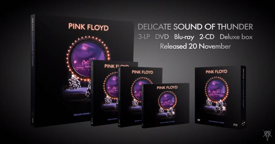 """Pink Floyd anuncia relançamento especial de """"Delicate Sound of Thunder"""""""