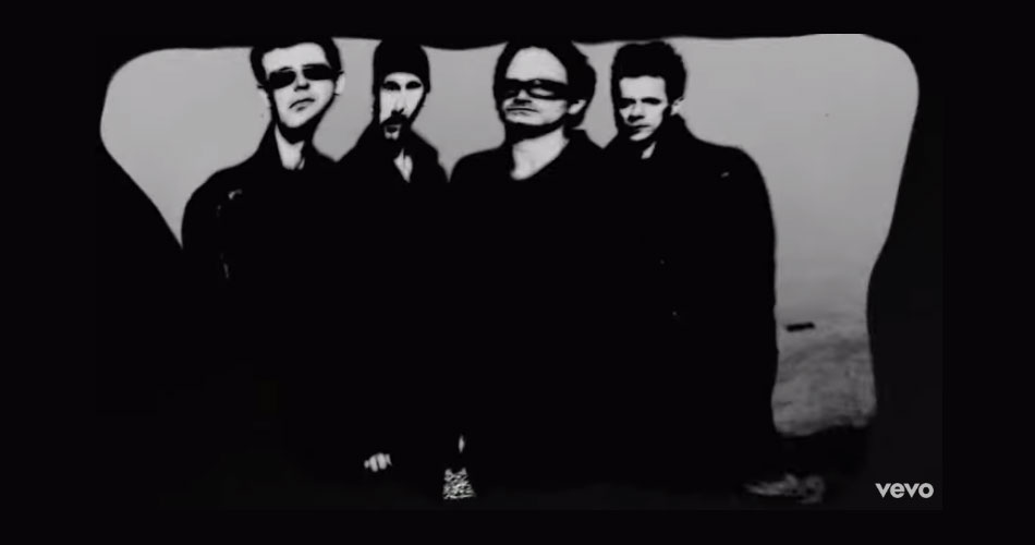 "U2 libera lyric video das canções ""Stateless"" e ""Levitate"""