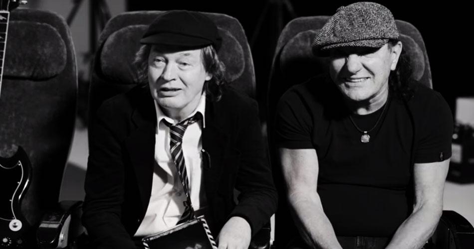 """Em novo teaser, AC/DC reforça que """"PWR UP"""" visa homenagear Malcolm Young"""