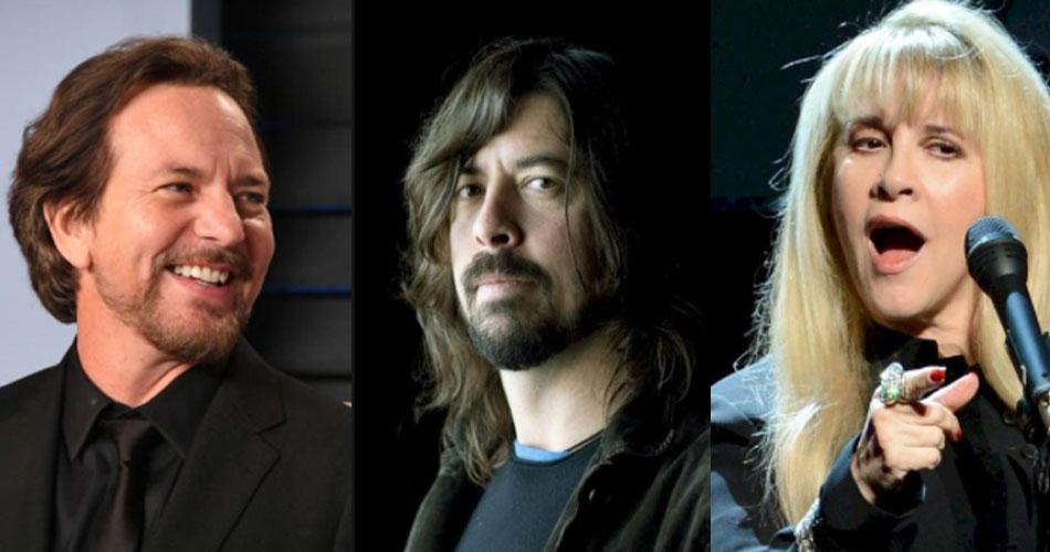 Tributo a Tom Petty terá presenças de Eddie Vedder, Foo Fighters e Stevie Nicks