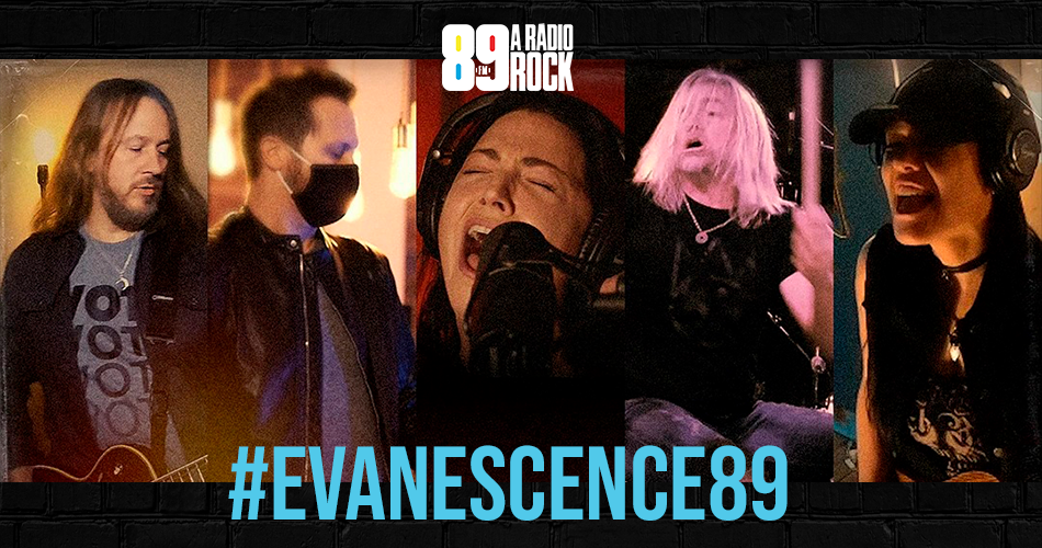 89 te coloca na live do Evanescence