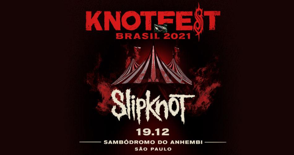 Knotfest Brasil é confirmado para dezembro de 2021 em SP