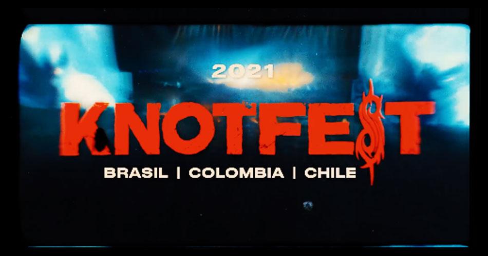Knotfest anuncia festivais em 2021 no Brasil, Colômbia e Chile