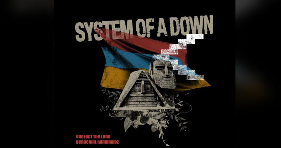 De surpresa,  System Of A Down lança suas primeiras novas músicas em 15 anos