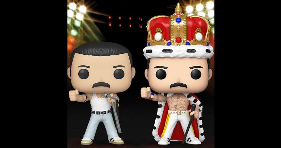 Funko revela nova série de bonecos do Queen