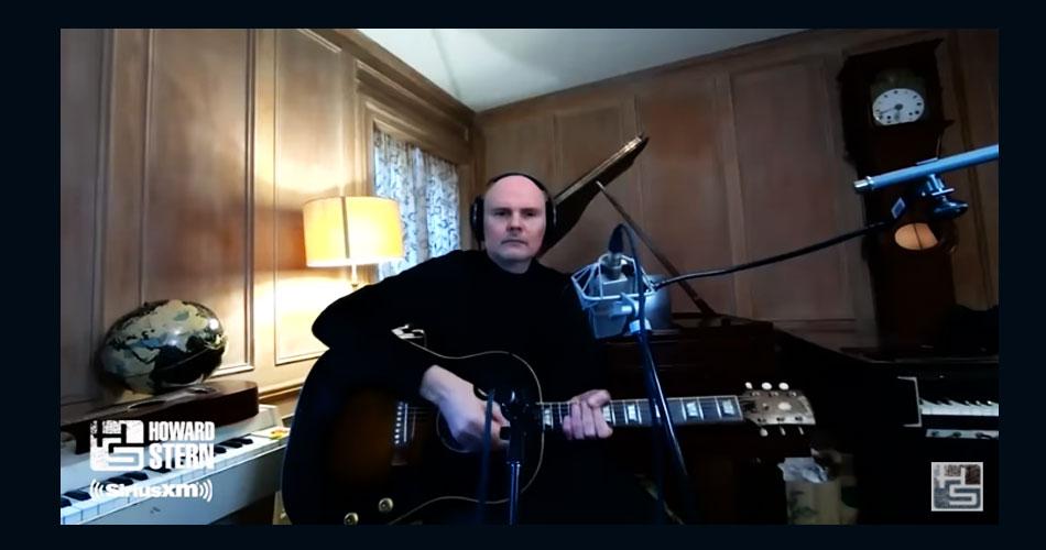 """Billy Corgan faz versão de """"Wish You Were Here"""", do Pink Floyd"""