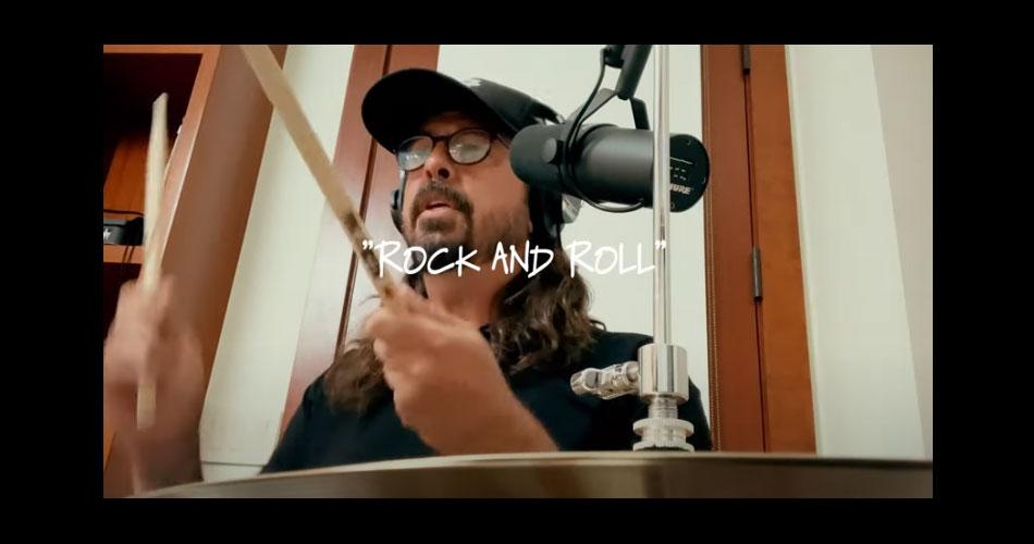 """""""Rock And Roll"""", do Velvet Underground, ganha versão cover de Dave Grohl e Greg Kurstin"""