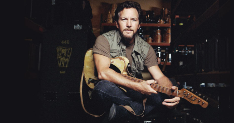 Eddie Vedder é destaque em evento on-line promovido por Joe Walsh, do Eagles