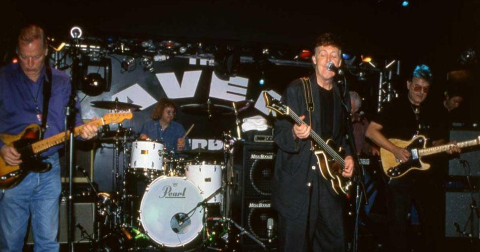 Há 21 anos, Paul McCartney recrutava integrantes de Pink Floyd e Deep Purple para show no Cavern Club