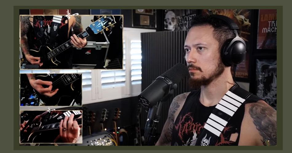 """Sepultura toca o clássico """"Slave New World"""" com Matt Heaffy, do Trivium"""