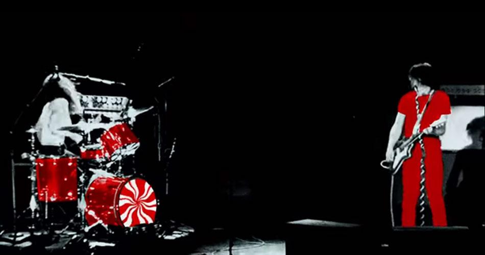 """The White Stripes celebra chegada de sua 1ª coletânea com animação de """"Let's Shake Hands"""""""