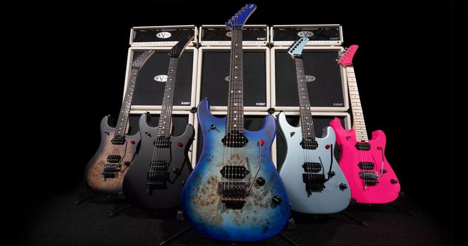 Eddie Van Halen é homenageado em nova série de guitarras