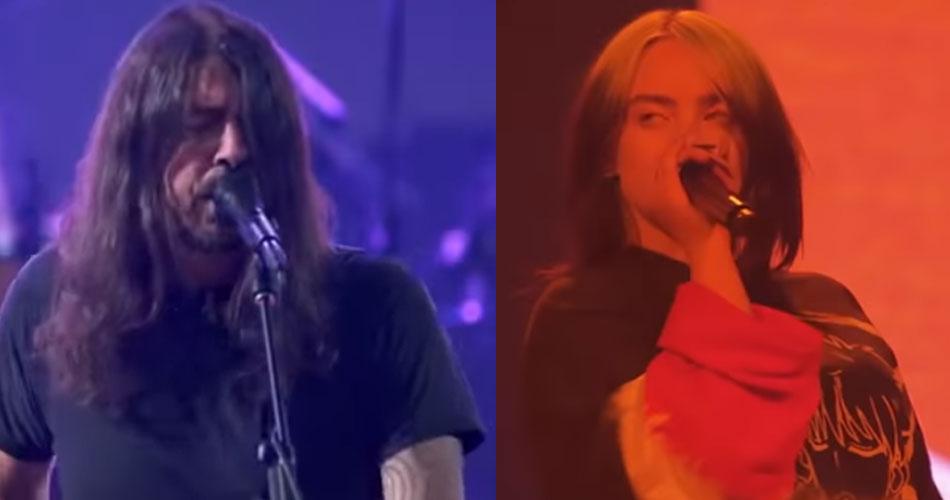 Foo Fighters e Billie Eilish tocam em evento virtual