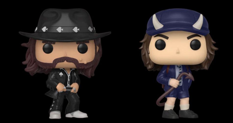 Funko anuncia novos bonecos colecionáveis do AC/DC e do Motörhead