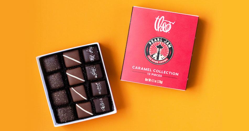 Pearl Jam lança sua linha própria de chocolates