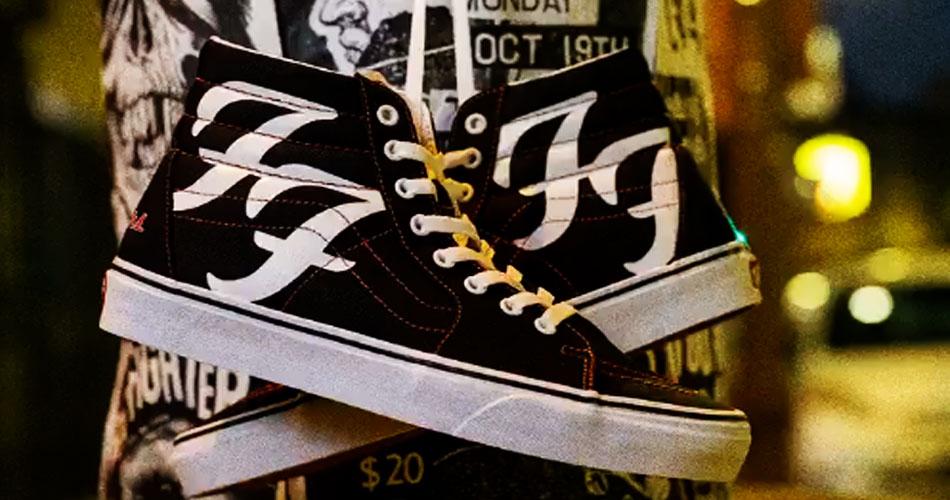 Vans anuncia tênis personalizado do Foo Fighters