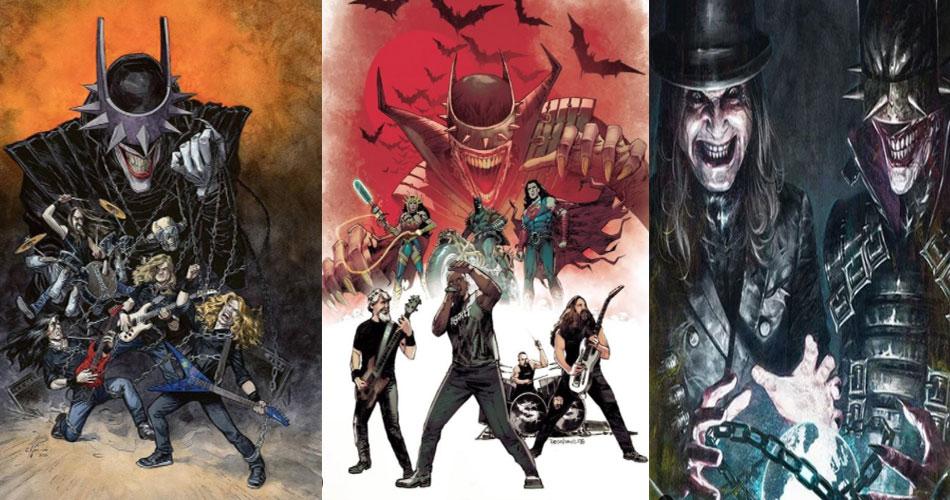 DC Comics faz homenagens em HQ para Sepultura, Megadeth e Ozzy Osbourne