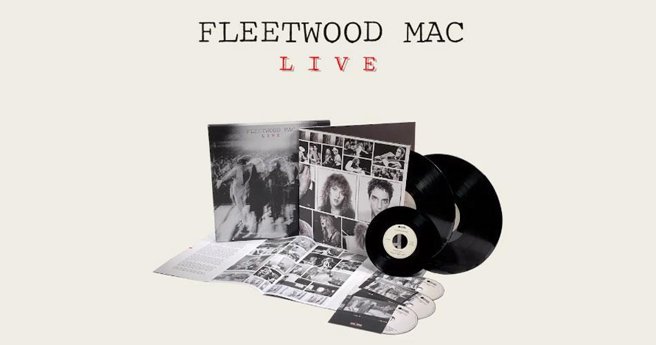 """Fleetwood Mac anuncia relançamento de álbum ao vivo de 1980 e libera versão inédita de """"The Chain"""""""