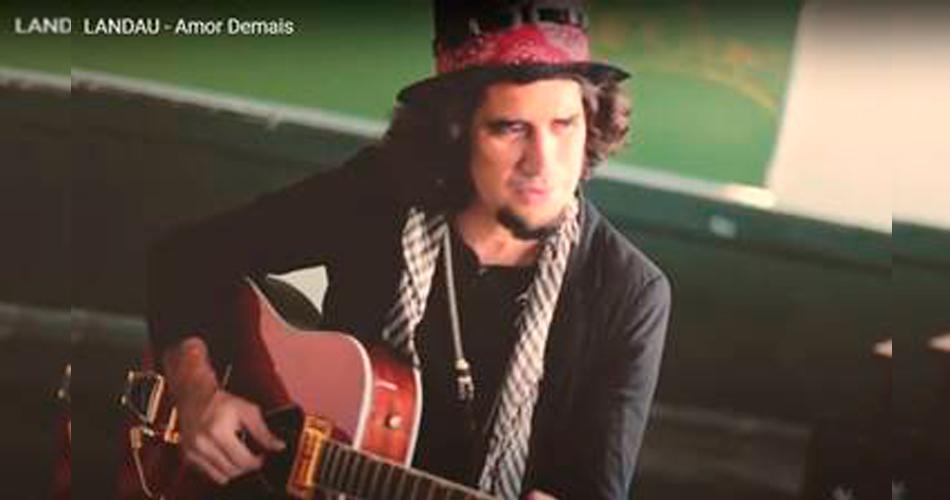"""Landau lança clipe """"Amor Demais"""" do novo álbum """"Refúgio"""""""