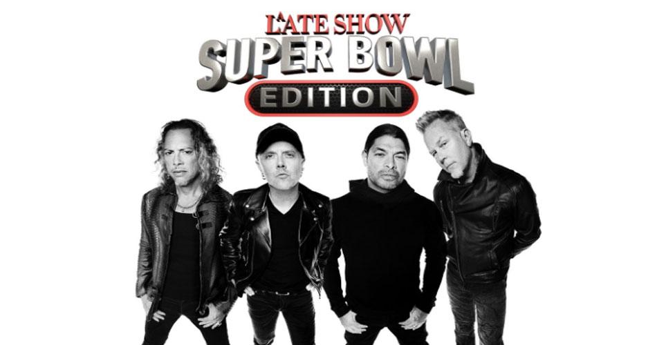 """Metallica anuncia apresentação na TV para encerrar """"Semana do Super Bowl"""""""
