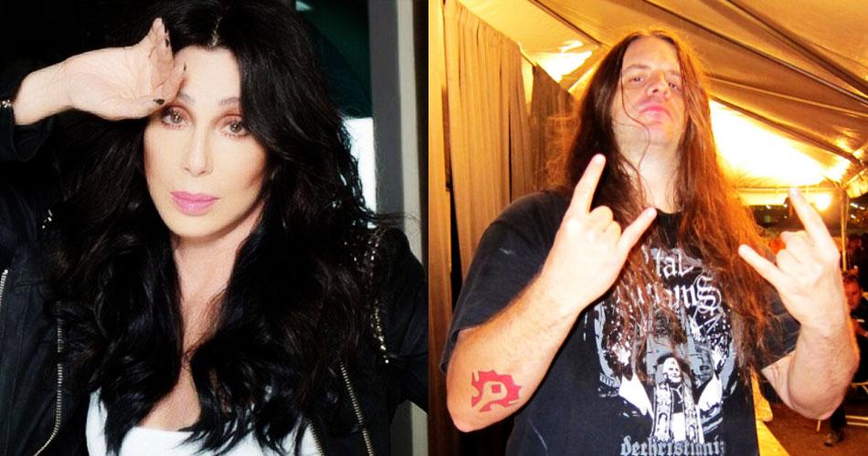 """Vocalista do Cannibal Corpse revela que cantora Cher é """"mais metal"""" que ele"""