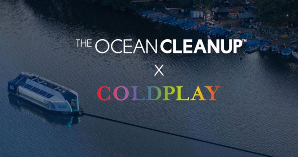 Coldplay patrocina desenvolvimento de embarcação que despolui rios