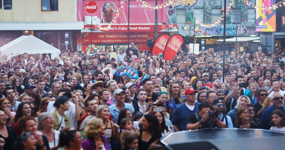 Nova Zelândia faz maior evento ao vivo de música do mundo dos últimos 12 meses