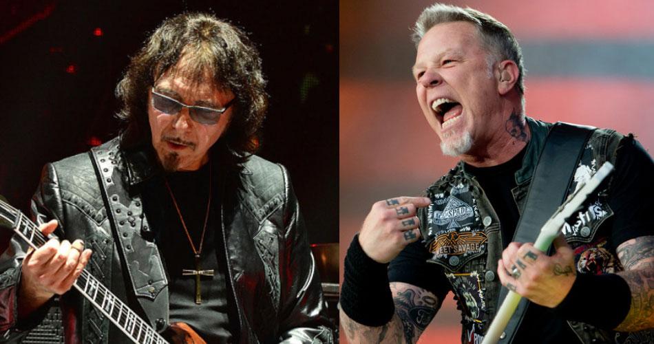 Para Tony Iommi, Metallica é exemplo de banda que não deixa o rock morrer