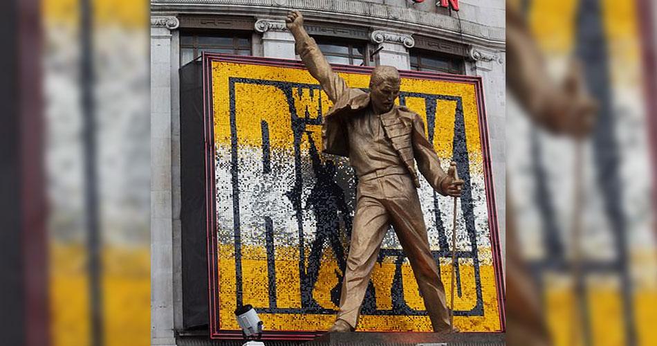 Roger Taylor quer estátua de seis metros de Freddie Mercury em seu jardim