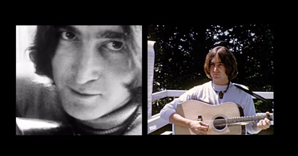 """Canção """"Look At Me"""", de John Lennon, ganha clipe com imagens inéditas de cantor"""