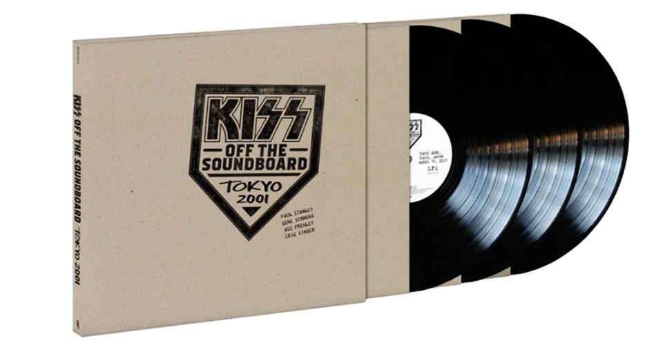 """Kiss anuncia álbum ao vivo """"Off the Soundboard: Tokyo 2001"""", ouça uma das faixas"""