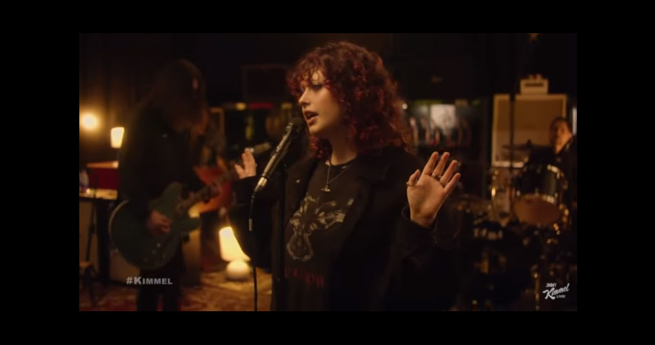 Dave Grohl forma supergrupo com Krist Novoselic, Dave Lombardo e sua filha Violet; veja vídeo