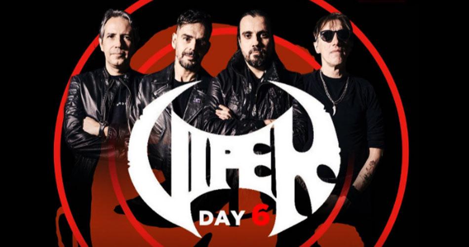 """VIPER DAY 6: banda celebra relançamento do """"Coma Rage"""" e 35 anos da primeira gravação, """"Killera Sword"""""""