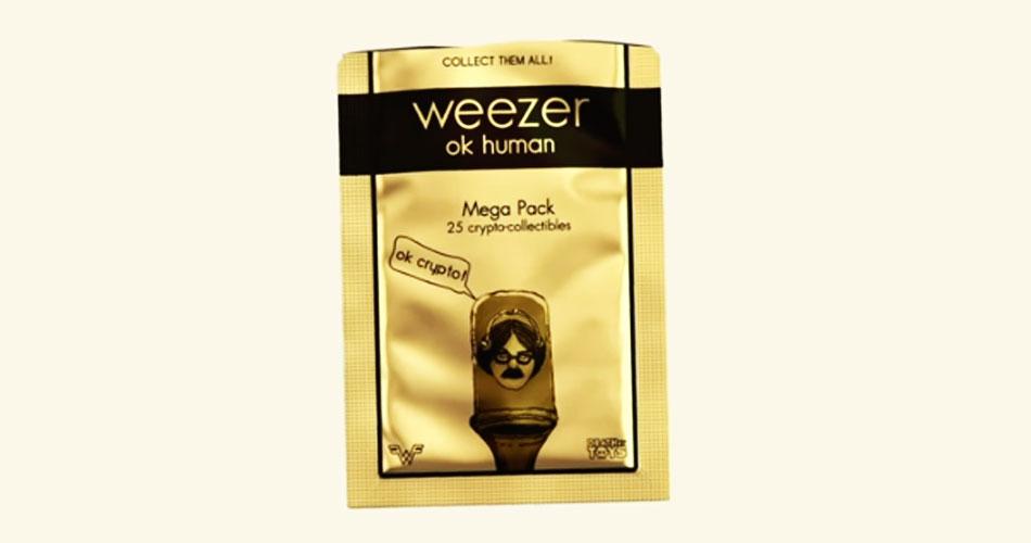 """Weezer lança trabalho exclusivo em formato NFT, """"OK Crypto"""""""