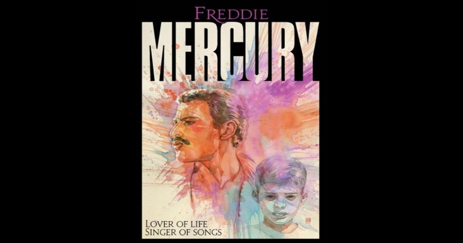 Freddie Mercury tem sua vida contada em graphic novel