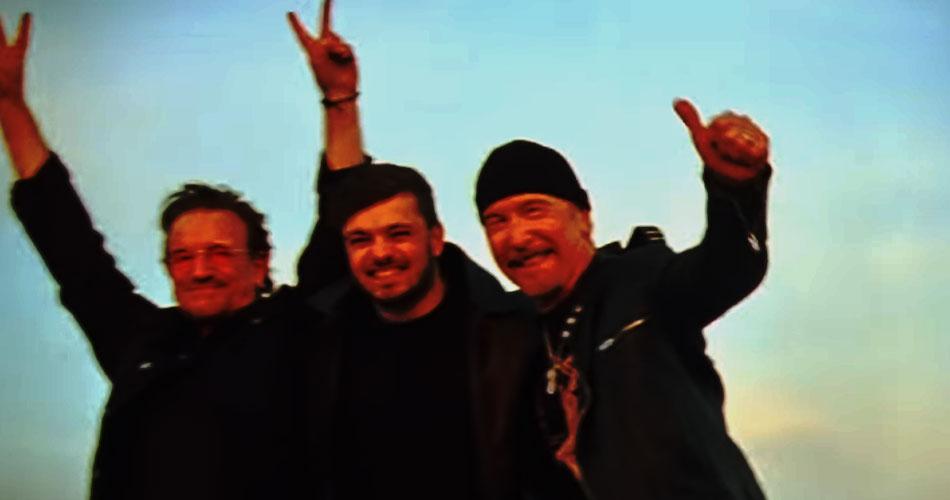 """U2 é convidado do DJ Martin Garrix em """"We Are The People"""", veja videoclipe"""