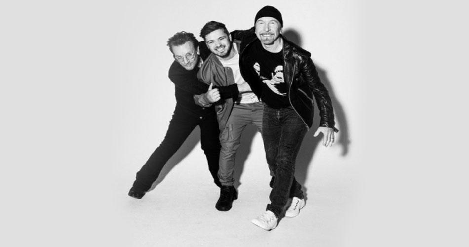 U2 grava música oficial da Eurocopa com DJ Martin Garrix