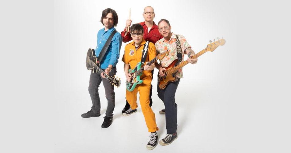 Weezer atinge 1º lugar em parada da Billboard com seu álbum de metal